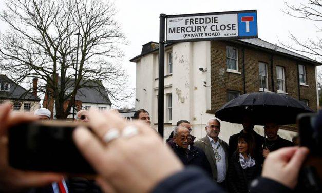 """Fredi Merkjuri """"dobio"""" ulicu u Londonu"""