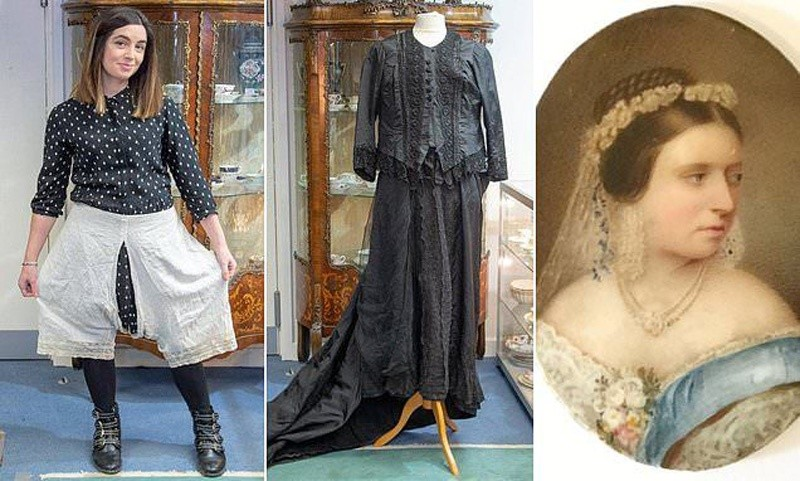 Доњи веш, чарапе, чизме краљице Викторије продате на аукцији