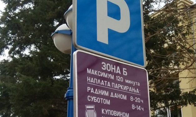 Nova parking mesta u Požarevcu