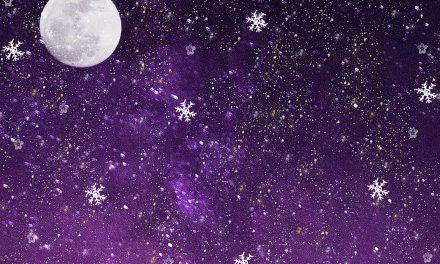 У суботу на небу Снежни Mесец