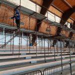 Почело реновирање спортске хале у Костолцу