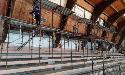 Počelo renoviranje sportske hale u Kostolcu