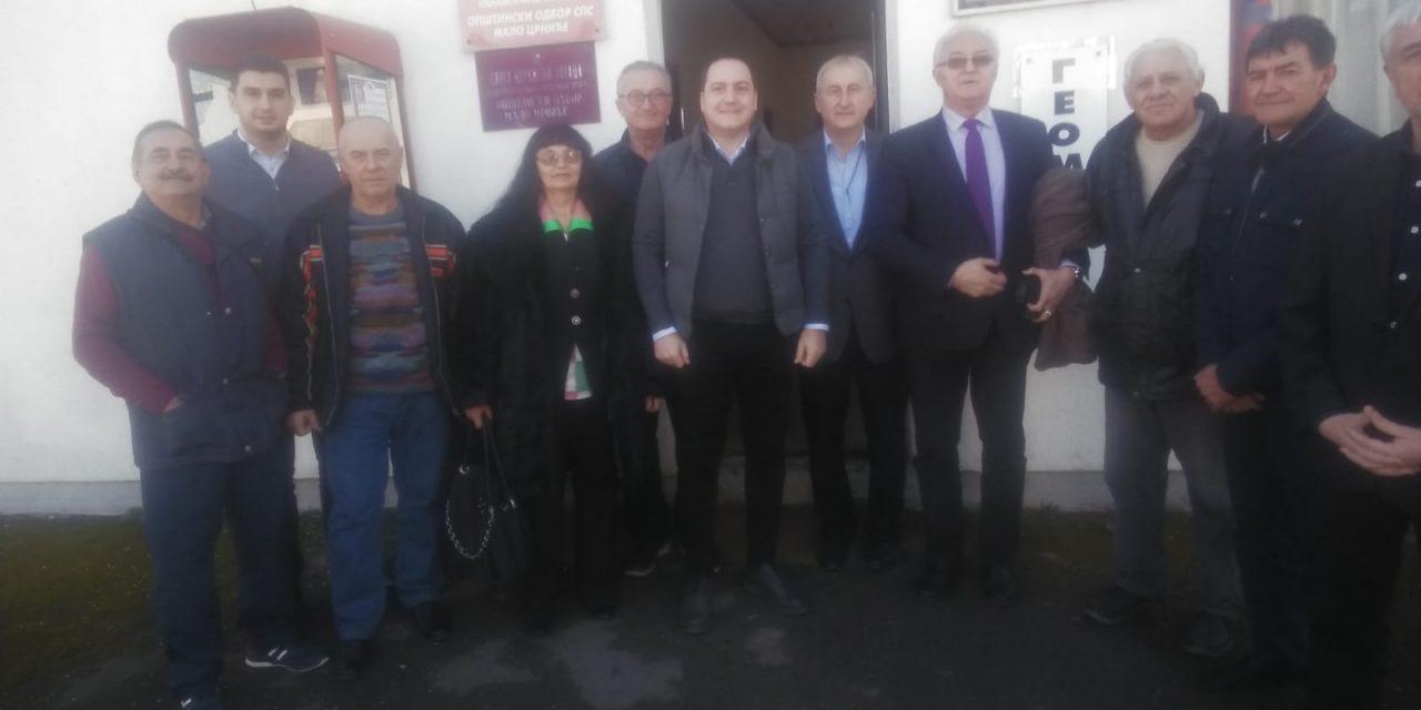 Бранко Ружић, потпредседник СПС-а у Малом Црнићу