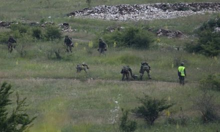 """Војне вежбе на полигону """"Могила"""""""