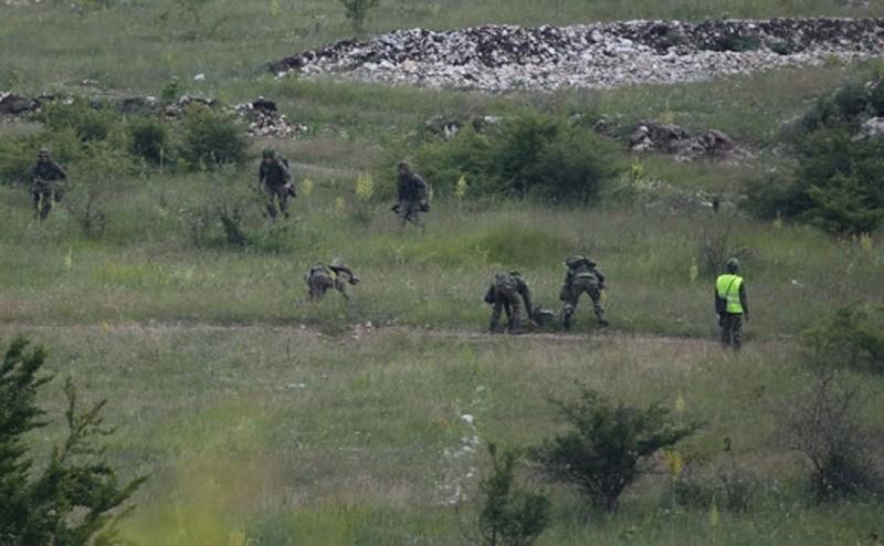 Вежбе јединице Војске Србије