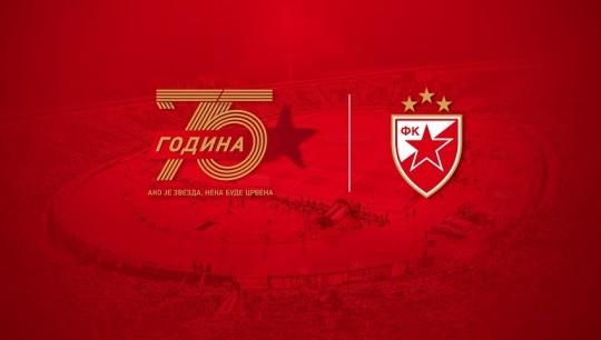 Црвена звезда слави 75. рођендан