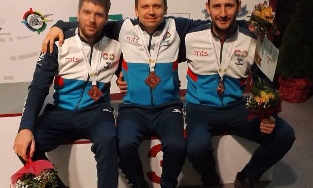 Bronza za muški tim na Evropskom prvenstvu