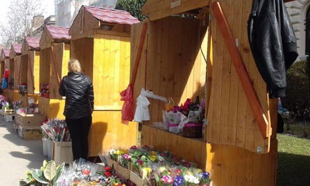 Osmomartovska prodaja cveća i ove godine u parku