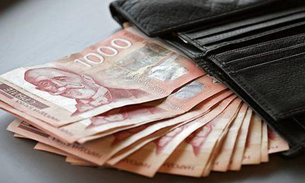 Više novca za zaposlene u javnom sektoru i penzionere