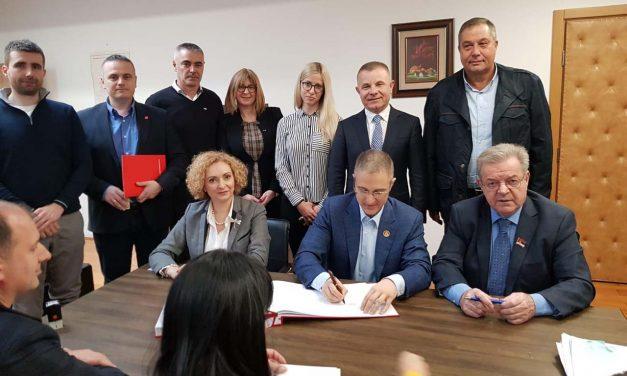 СНС и ПСС – БK потписали коалициони споразум