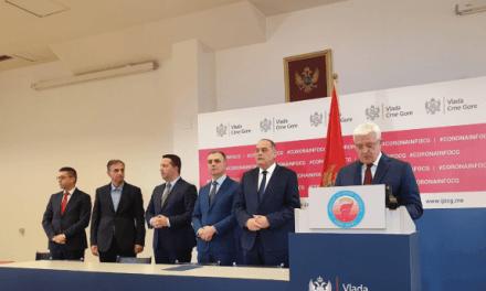 Прва два случаја коронавируса у Црној Гори
