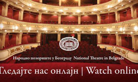 Народно позориште од данас почиње са емитовањем представа путем интернета