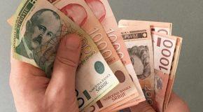 Тромесечна помоћ од 30.000 динара по запосленом у малим фирмама и 15.000 за средња и велика предузећа