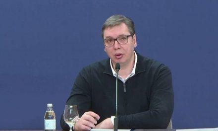 Vučić: Zabrana kretanja najverovatnije od petka u 18h do ponedeljka u 5h