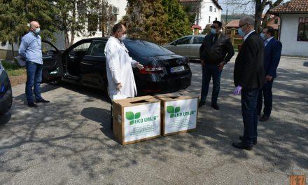 """""""Eko unija SN"""" donirao pakete pomoći požarevačkoj bolnici"""