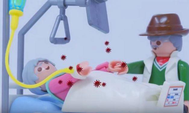Анимирани филм за децу: Корона, шта је то?