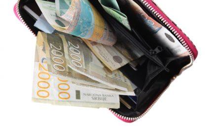 Prosečna plata u februaru 58.132 dinara