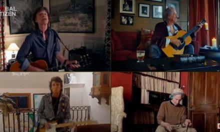 Stonsi odsvirali pesmu svako iz svoje dnevne sobe (VIDEO)