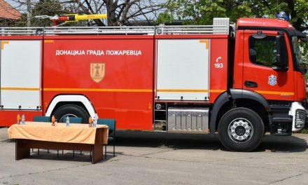 Grad Požarevac nabavio novo vozilo za potrebe Vatrogasno spasilačkih jedinica