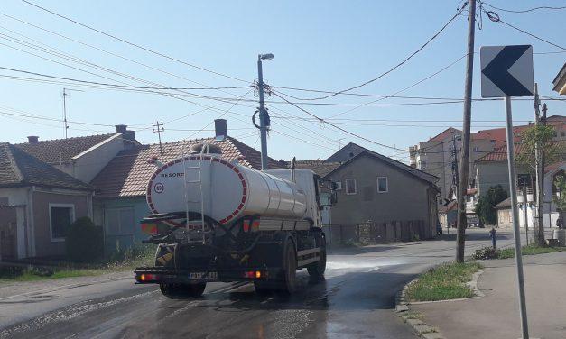 Pranje i dezinfekcija ulica i javnih površina na teritoriji opštine Kučevo