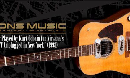 Gitara Kurta Kobejna na aukciji – početna cena, milion dolara