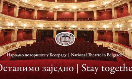 Narodno pozorište u Beogradu: Program u čast velikana sprskog glumišta
