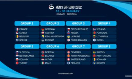 Održan je žreb za rukometno Evropsko prvenstvo 2022. godine