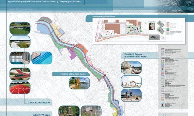 """Plan za turističko rekreativnu zonu – """"Reka Mlava"""""""