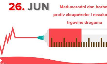 Danas je Međunarodni dan protiv zloupotrebe i nezakonite trgovine drogama