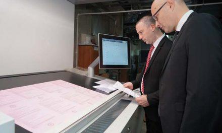 Započeto štampanje glasačkih listića za izbore za narodne poslanike Narodne skupštine