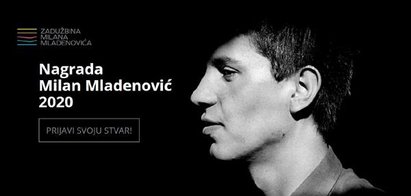 Konkurs za nagradu Milan Mladenović otvoren 1. juna