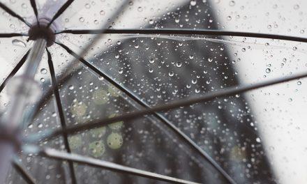 Oblaci, kiša i pad temperature