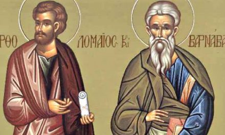 SPC slavi praznik Svetih apostola Vartolomeja i Varnave