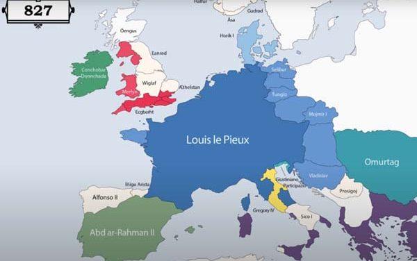 Animirana mapa – vladari Evrope iz godine u godinu (VIDEO)
