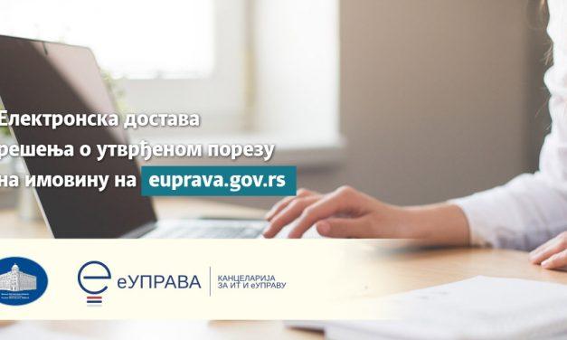 Petrovac na Mlavi: Rešenja o utvrđenom porezu na imovinu preko portala eUprava