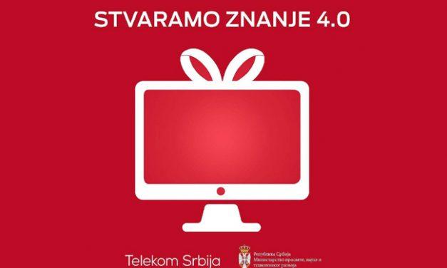 """Završen četvrti ciklus projekta """"Stvaramo znanje"""" Telekoma Srbija"""