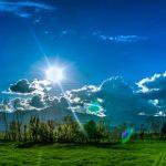 Danas sunčano i toplo, za vikend pljuskovi
