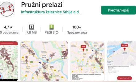 Pružni prelazi: Aplikacija koja će vas upozoriti kada dođete do – pružnog prelaza