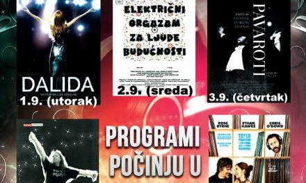 Večeras počinje Festival muzičkog filma u Centru za kulturu Požarevac