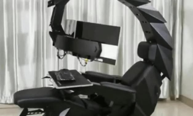 Da li ste nekada videli ovakvu stolicu? (VIDEO)