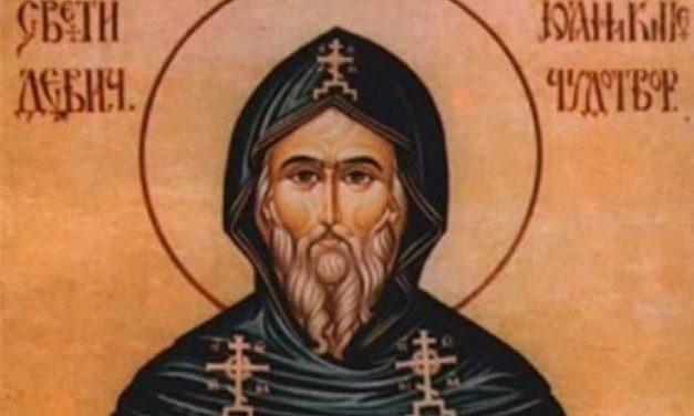 Sveti Joanikije, prvi srpski patrijarh