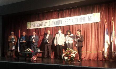 Malo Crniće: Dodeljene Oktobarske nagrade najzaslužnijim građanima