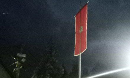 Malo Crniće: Podignuta zastava 49. FEDRAS-a
