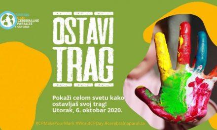 """Kampanjom """"Ostavi trag"""" obeležava se danas Svetski dan cerebralne paralize"""