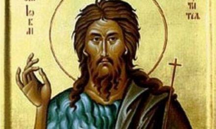 Danas slavimo Začeće Svetog Jovana Preteče i Krstitelja