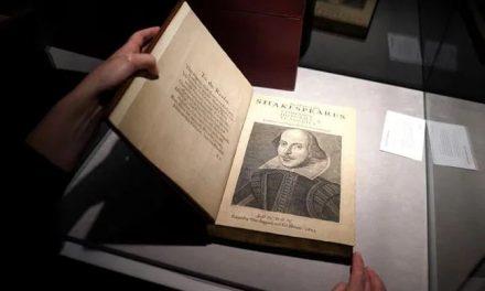 Zbirka Šekspirovih drama prodata za 9,97 miliona dolara