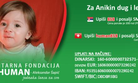 Online koncert bendova Deca Loših Muzičara i Iskaz za pomoć Aniki