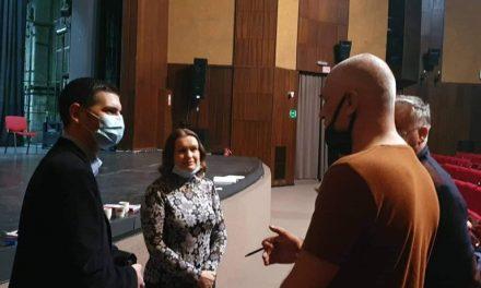 Prvi put u istoriji pozorišta gradonačelnik prisustvovao probama