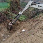 Žabari: Sanacija bujičnih potoka – obezbeđivanje proticajnog profila bujičnih potoka
