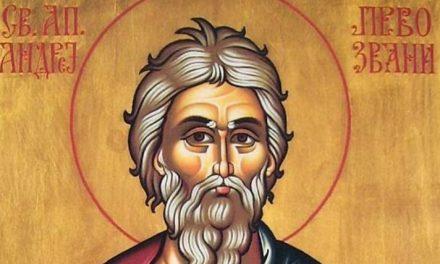 Danas je praznik Svetog Andreja Prvozvanog
